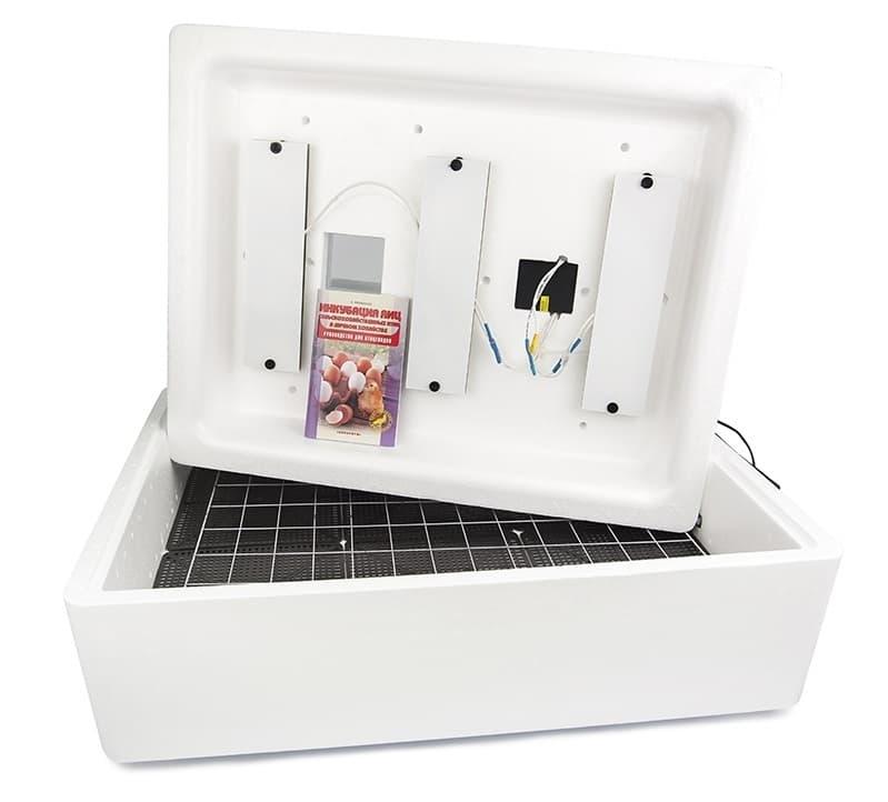 Инкубатор Несушка 104 яйца 220 В, автомат. поворот, аналог. терм., арт. 73 - фото 5464