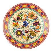 Ляган Риштанская Керамика 42 см. плоский, Турецкий